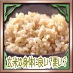 玄米は身体に良い?悪い?効果的な食べ方に食べ合わせについて