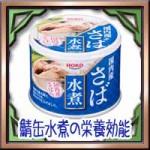 鯖缶水煮の栄養効能にカロリー!サバ缶は美容ダイエットに効果的?