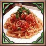 トマト缶詰ホール缶で簡単人気な美容ダイエットパスタレシピ!