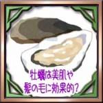 牡蠣は美肌や髪の毛に効果的?食べ過ぎに加熱すると栄養は?
