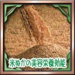 米ぬかの美容栄養効能!摂取量や食用の注意点に副作用はないの?